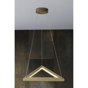 legno-triangle-suspension-24v-18w-3-modules-chene-huile-1680-lumens-1519174-britop-allumé