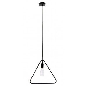 CARSTEN suspension triangulaire E27 60w Noire