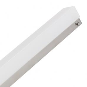Réglette Chrome STARLED RHONE 60 LED 10 W 700 lumens SDB IP44 CLASSE II 3000k