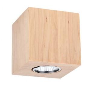 wooddream carré bois massif bouleau 2576160