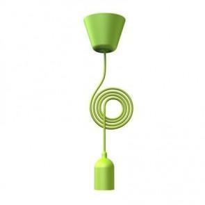 FUNK suspension cordon tissu E27 Vert E27 25W maxi nordlux
