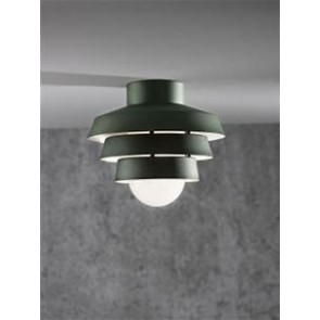 Plafonnier ELEMENTS 22 descendante E27 60W Vert Mat nordlux