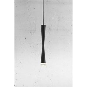Suspension LOONG noir Diam 5 Long 40cm Led intégré 6w 400 lumens nordlux