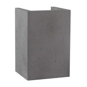 block-béton-gris-foncé-gu10-2x6w-8973236