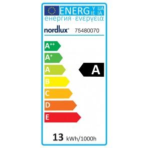 Ampoule Funk sablé E27 13 watts 700 lumens