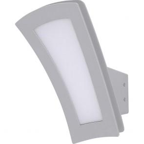 Applique descendante extérieure GINA LED intégrée 9.5 W IP44 gris