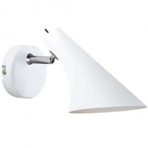 VANILA - Applique murale blanc + interrupteur