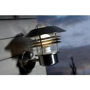 Vejers - applique murale INOX E27 60w maxi