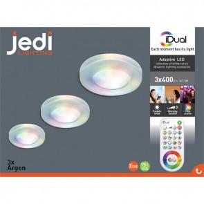 packaging spot argon rgb led idual jedi