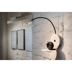 ARLES LED applique étagère rond interrupteur 3w 270 Lumens 3000k