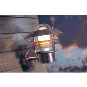 Applique montante cuivre E27 60W maxi garantie 15 ans contre la corrosion Nordlux BLOKHUS