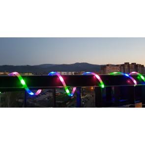 ruban Solaire Led RGB 3M IP44 avec 8 programmes au choix BOA CALI