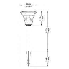 Lampe solaire extérieure detecteur de mouvement 10 à 90 lumens Duracell