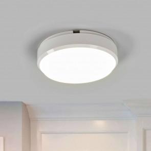 hublot led IP54 CLII 9w 650 lumens rond plastique blanc diffuseur blanc 4000k diam 17.5cm muller licht Bulkhead