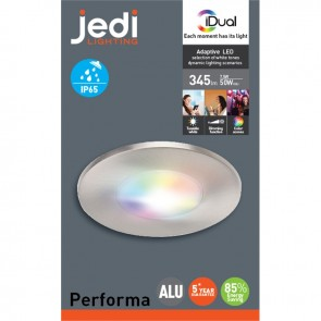 PERFORMA - 1L spot encastré Alu Led RGB iDUAL