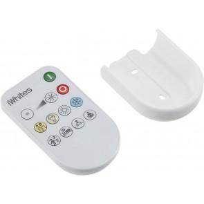 Kit 1 spot encastré acier brossé Led performa iwhite s'utilise avec la telecommande non fournie pour variation intensité et temperature de couleur blanc froid à blanc chaud