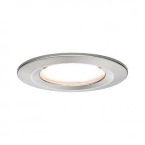 Kit-1-spot-encastré-led-slim-intérieur-alu-blanc-6.8w-633-lumens-2700-kelvins-ip65-dimmable-paulmann-93871-4000870938713-allumé