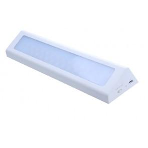 LILI LTH BLANC éclairage meuble avec détecteur rechargeable autonome Led 90 Lumens