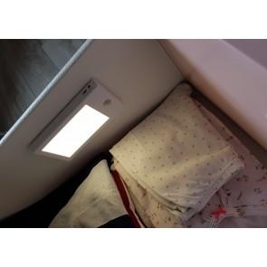LISA LTH BLANC éclairage pour meuble avec détecteur rechargeable autonome Led 110 Lumen