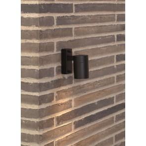 Applique murale extérieur descendante Noir Mat GU10 maxi 35w fournie sans ampoule TIN nordlux