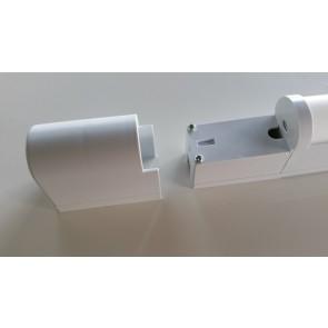 Réglette pour meuble NOKA LED 18 W  BLANC + inter + connexion directe