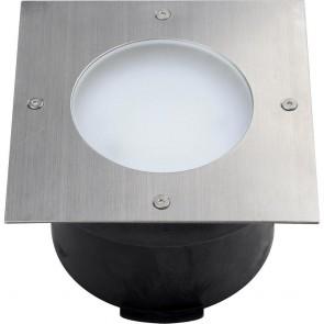 Spot LED extérieur encastrable OLYMPIA 9 W acier inoxydable zoom