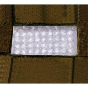 Encastré de sol extérieur PAVE 36 LED blanc showroom