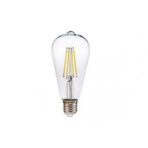 KLARA ampoule ST64 filament led claire douille E27 600 lumens 6W
