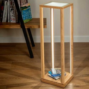 tavoli-glass-table-bois-chene-verre-haut-81,5cm-8883974-allumé