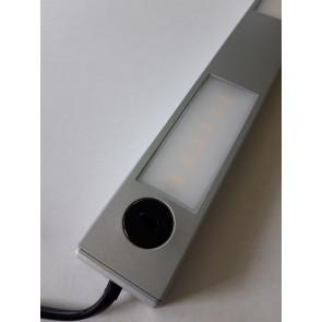 Réglette TEO Led 3L 3,5w 300 Lumens hand sensor métal titan 3000k-6500k-4000k