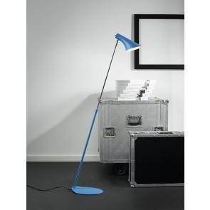 VANILA liseuse lampadaire bleu Haut 129cm E14 40w maxi avec interrupteur nordlux