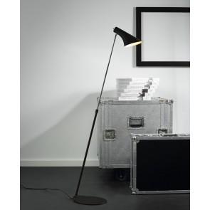 VANILA liseuse lampadaire noir Haut 129cm E14 40w maxi avec interrupteur nordlux