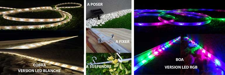 banniere flex ruban led