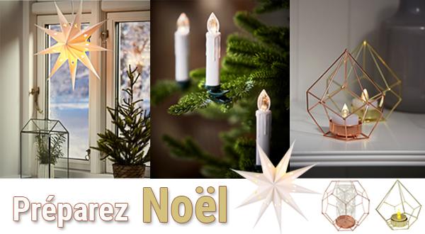 Sélection de Luminaires déco pour Noël